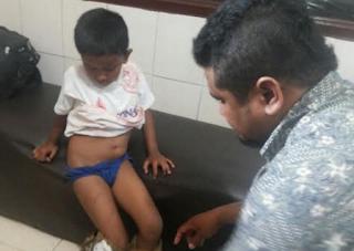 Bocah Cilik IA Laporkan Ayahnya Ke Polisi Karena Dipukul