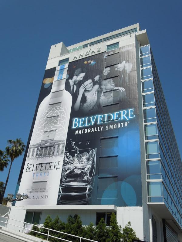 Giant Belvedere Vodka billboard