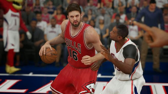 NBA 2K15 Pau Gasol Attribute Update