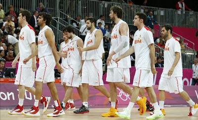Selección Española Londres 2012