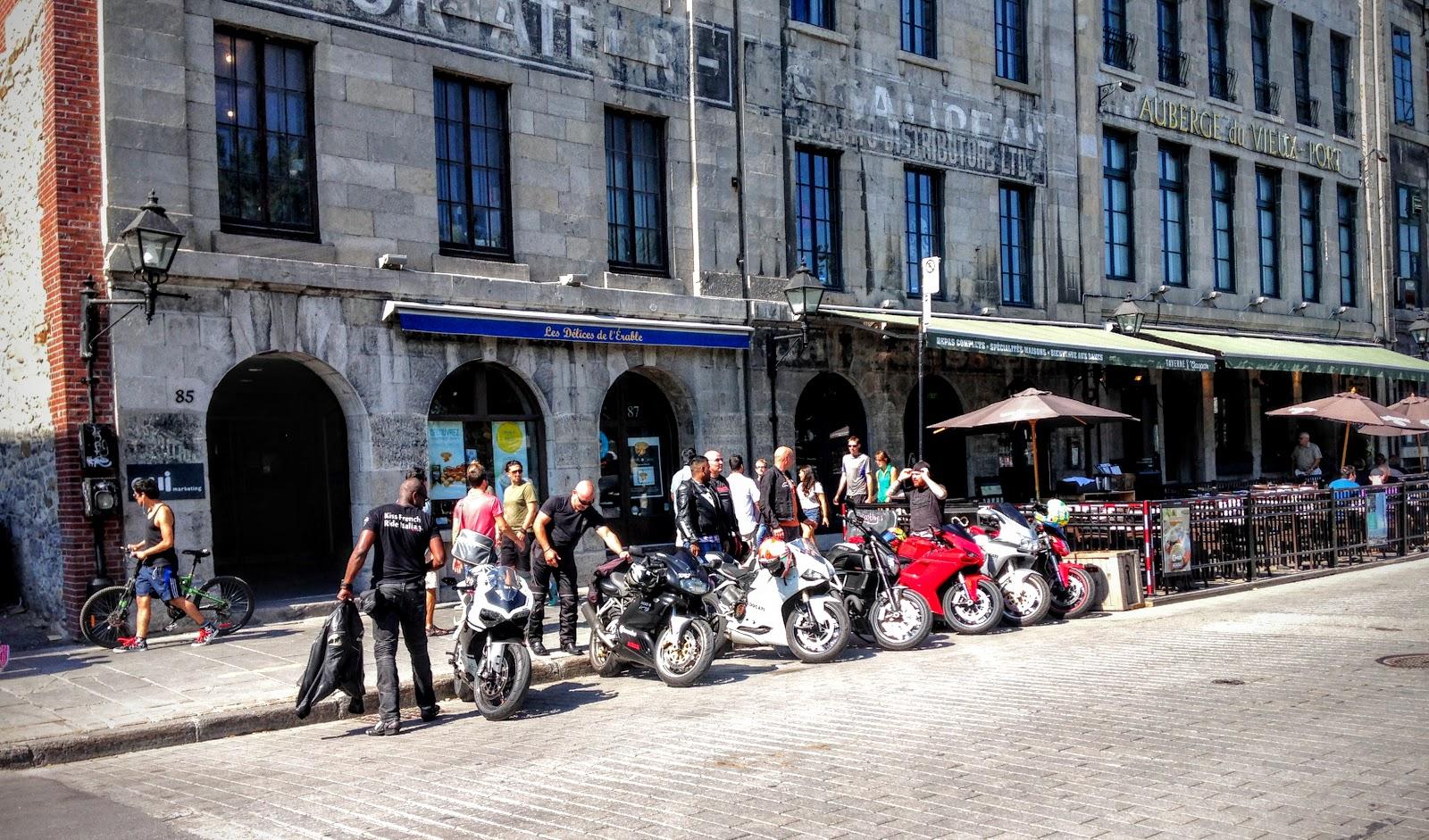 East Coast Ducs: Kiss French, Ride Italian