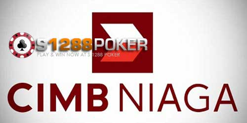 Hasil gambar untuk poker online indonesia bank cimb