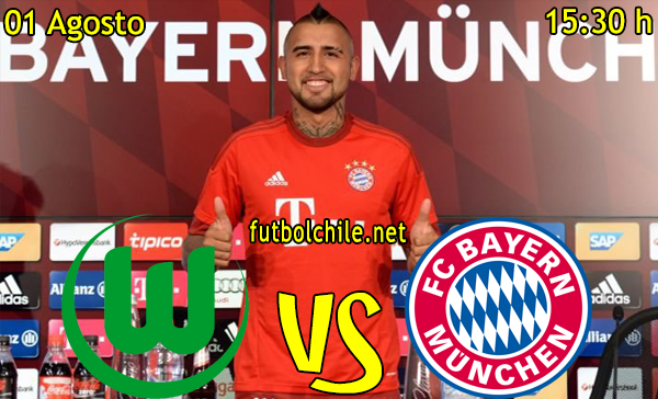 Wolfsburgo vs Bayern Munich - Supercopa de Alemania - 15:30 h - 01/08/2015
