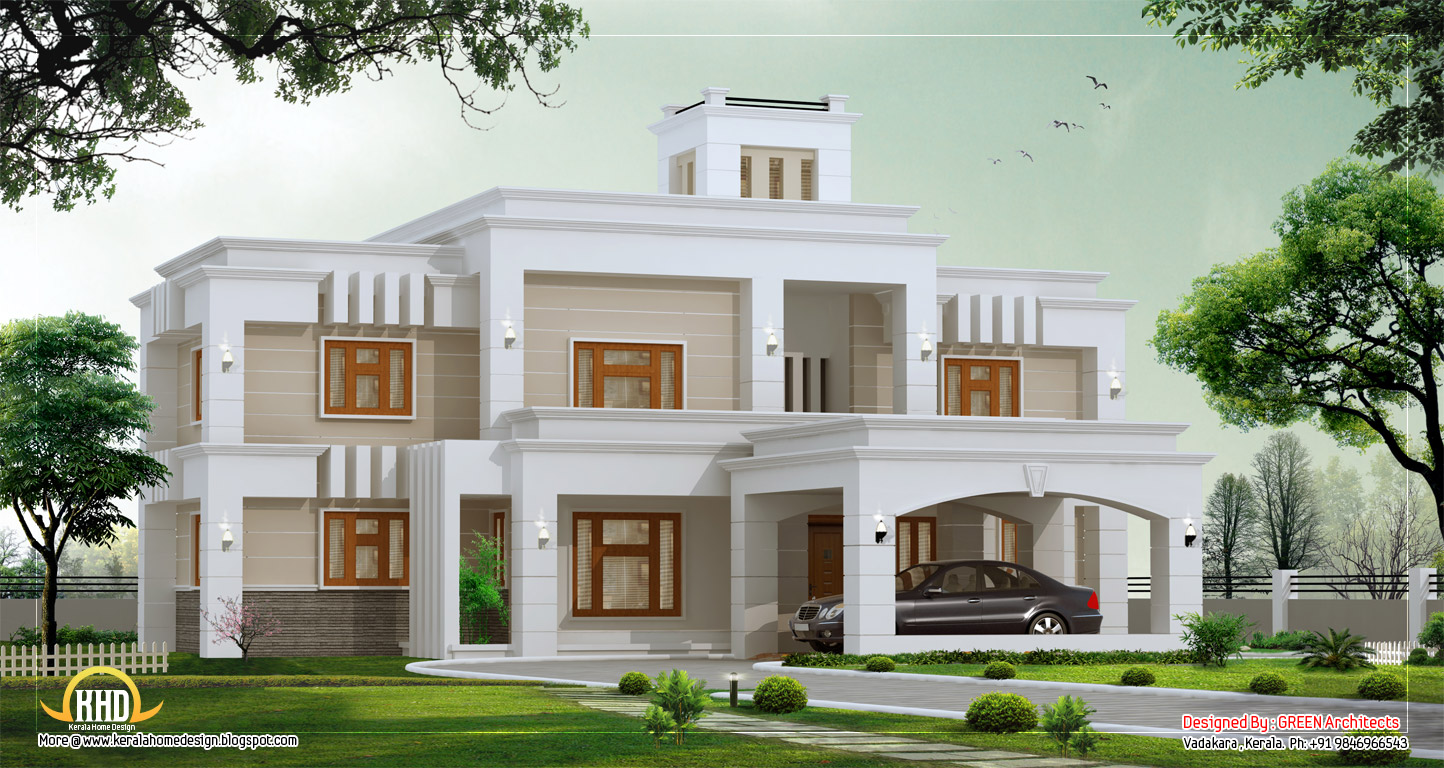 January 2012 kerala home design and floor plans for Unique modern house plans