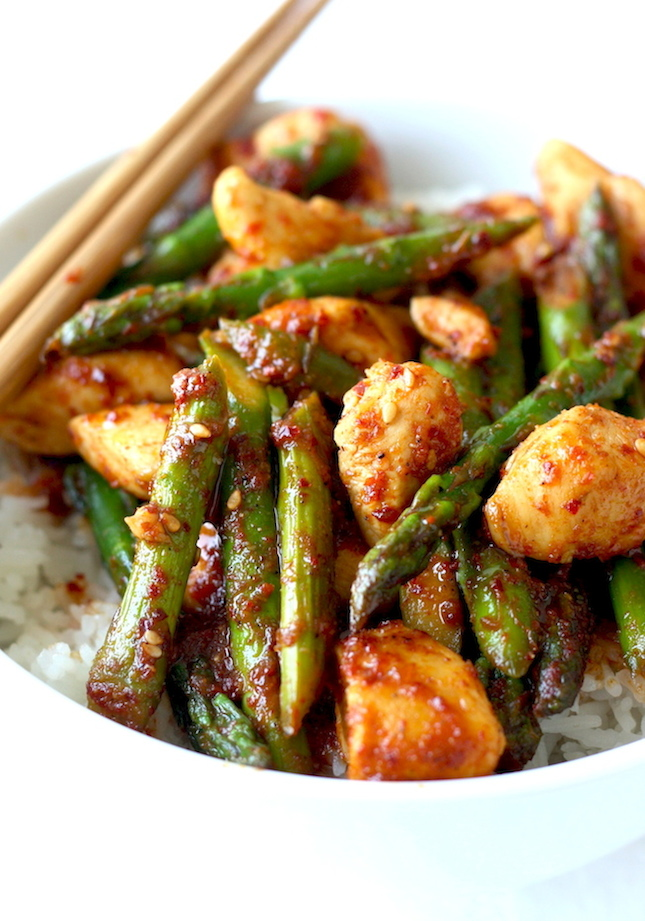 Stir fried chicken with chinese garlic sauce season with spice korean chicken stir fry recipe by seasonwithspice forumfinder Image collections