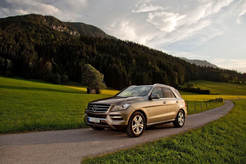 2013 Mercedes ML 500 4MATIC BlueEFFICIENCY
