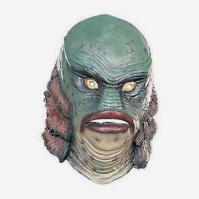 Máscara Criatura de la Laguna Negra