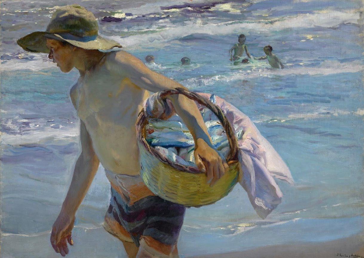 Flores y palabras joaqu n sorolla el pescador - Galeria de arte sorolla ...