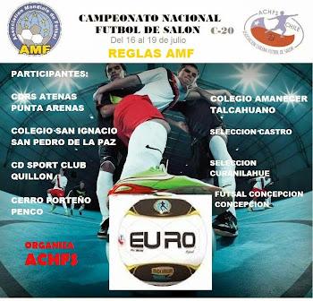 Nacional de Futsal Sub-20 - Concepción 2014