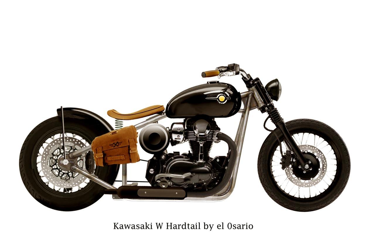 Ruote Rugginose Kawasaki Bobber