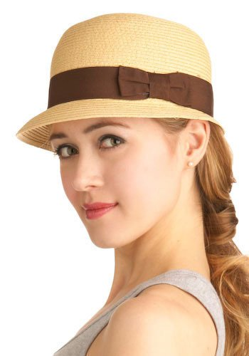 beautiful trendy hat for