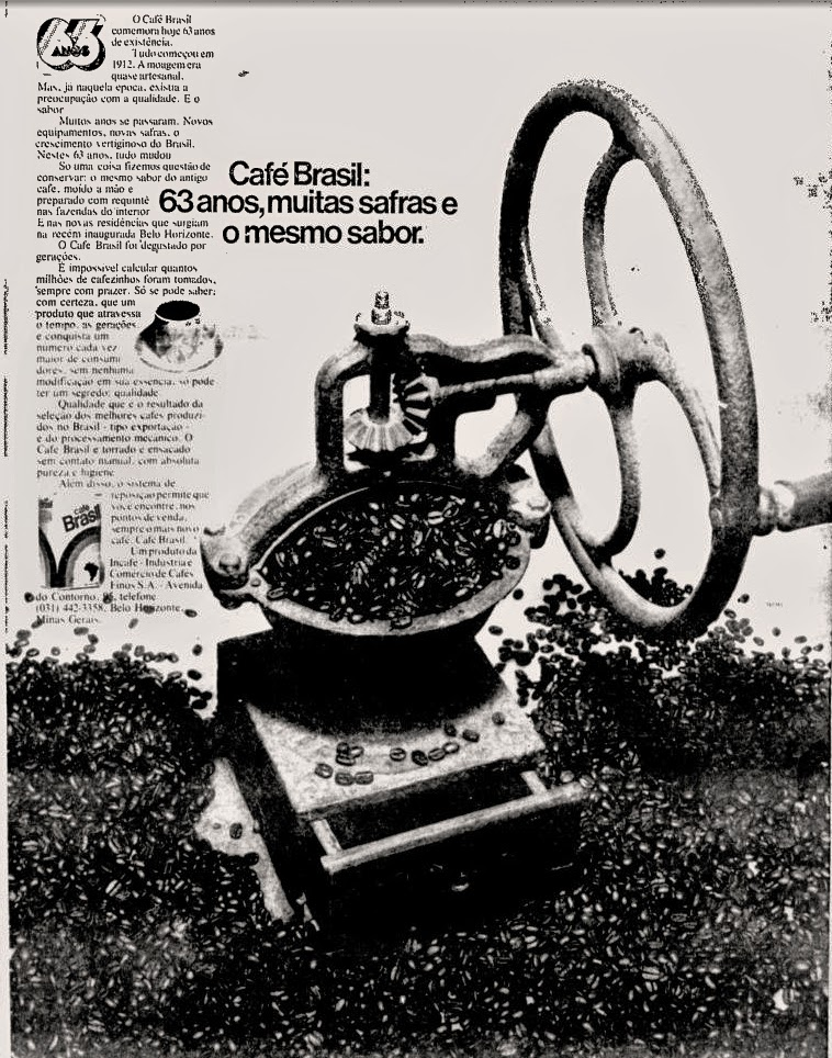 1975. propaganda década de 70. Oswaldo Hernandez. anos 70. Reclame anos 70 .