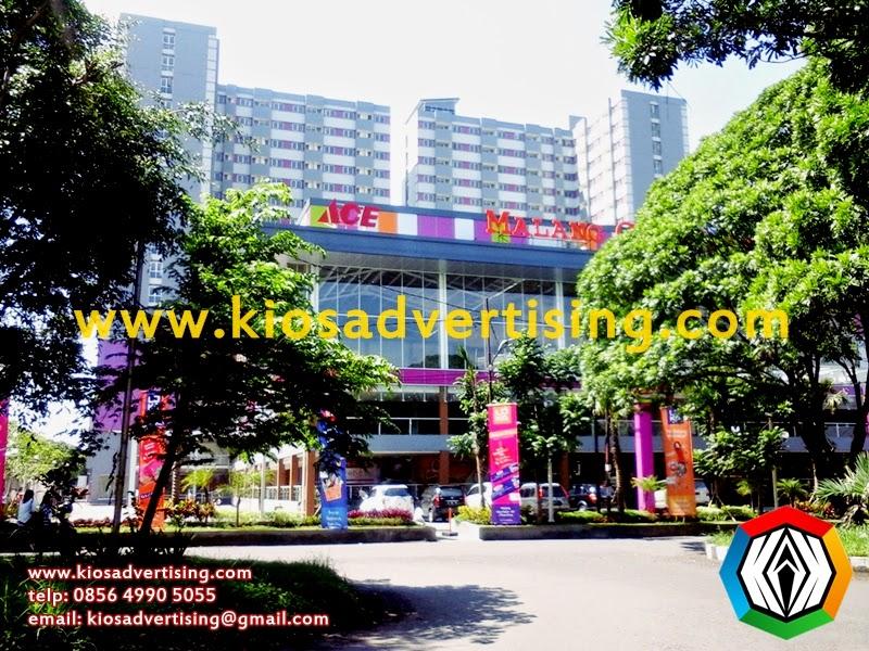 Jasa Pasang Umbul-umbul, Vertikal Banner Dieng Malang City Point Matos