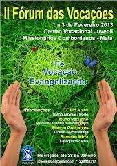 II Fórum das vocações 2013