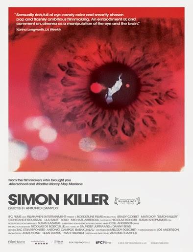 Ver Simon Killer (2012) Online