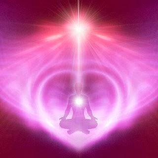 Pink Heart Human Divine Love Awakening