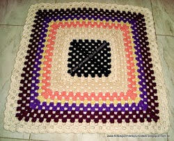 Tapete quadrado colorido (2)
