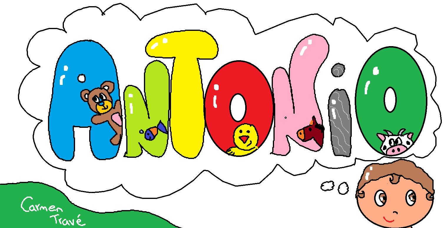 Los Dibujos de Carmen: Letreros infantiles