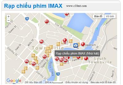 Danh sách các khách sạn gần rạp chiếu phim IMAX