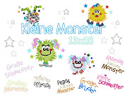 ♥Kleine Monster♥ab 13x18