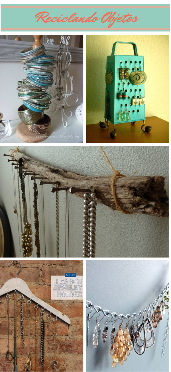 Organizar collares y pendientes