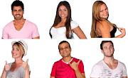 RODRIGÃO, MARIA, PAULA, DIANA, DANIEL E WESLEY CHEGAM Á RETA FINAL DO BBB 11 .