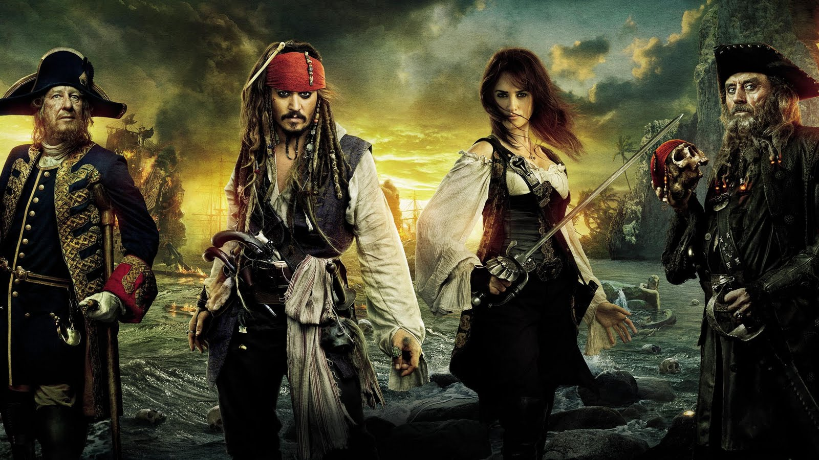 Wallpapers photo art pirates of the caribbean on stranger tides hd wallpapers wallpaper - Pirates of the caribbean images hd ...