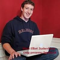 penemu facebook: Mark Elliot Zuckerberg