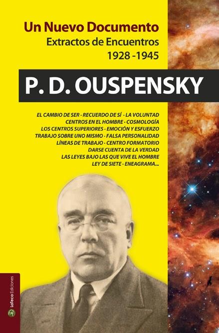 Un Nuevo Documento de Ouspenky