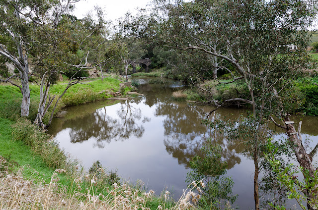 deep creek with bulla bridge in the background