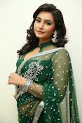 Ragini Dwivedi Glamorous photos in Green Saree-thumbnail-12
