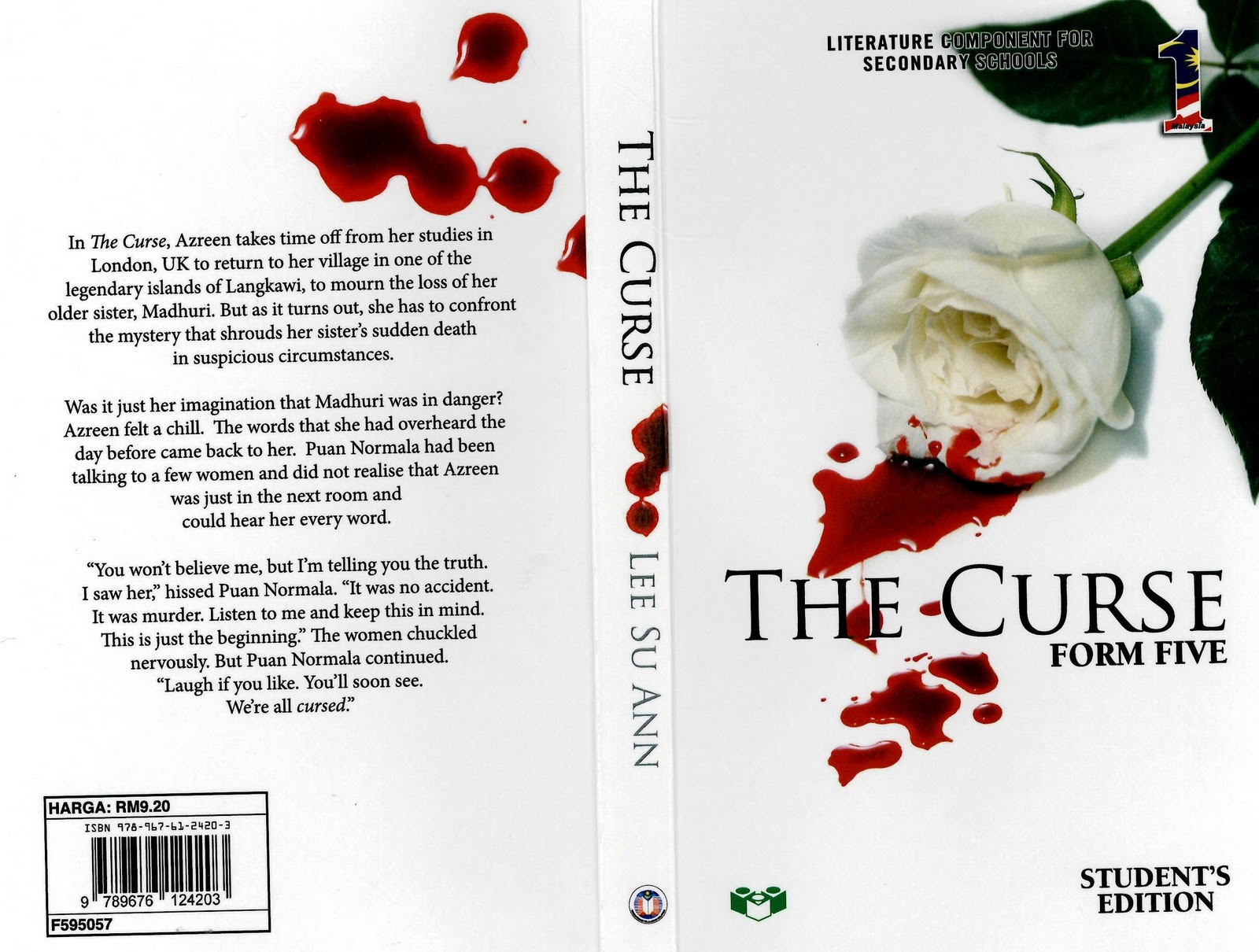 the curse form 5 novel The curse will be taught as a literary text to form 5 students beginning next year it's a wonderful book to read dear readers, today,i am not going to discuss the characters in the novel for exam purposes i shall state what i have in my mind for the s.