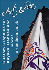 "A great choice for kayakers - ""Art and Sea"" graphics!"