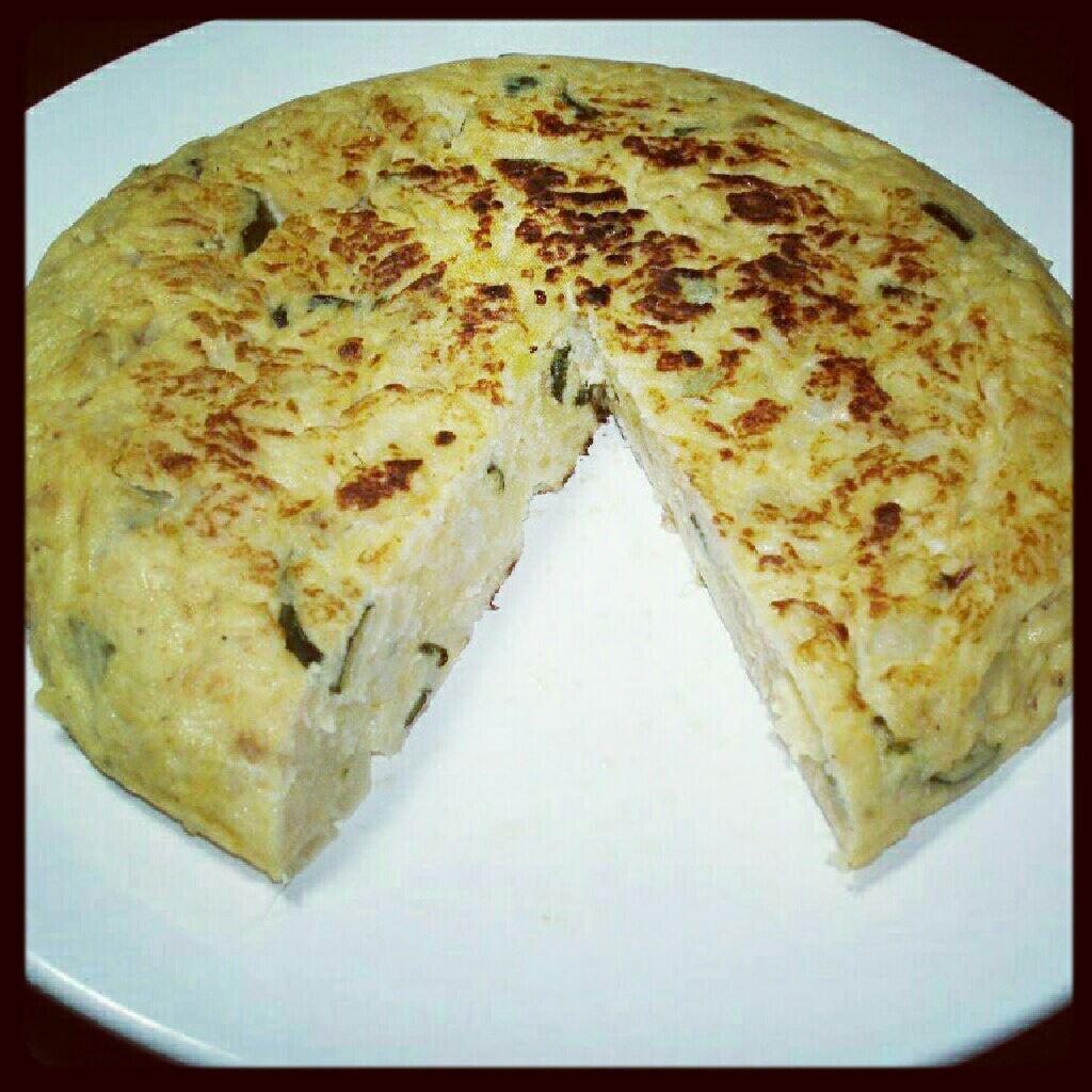 Blog de canal cuina tortilla de patata cebolla y calabac n - Tortilla de calabacin y cebolla ...