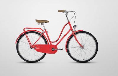 Red Vintage Bike Vintage Red