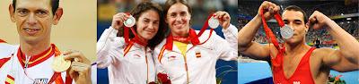 Medallistas de Pekín ya retirados de la competición