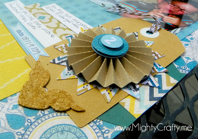 Rosette element - MightyCrafty.me