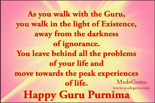 140 Words Guru Purnima Sms Message