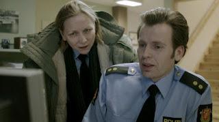 Local cops Laila Hovland and Geir 'Elvis' Tvedt