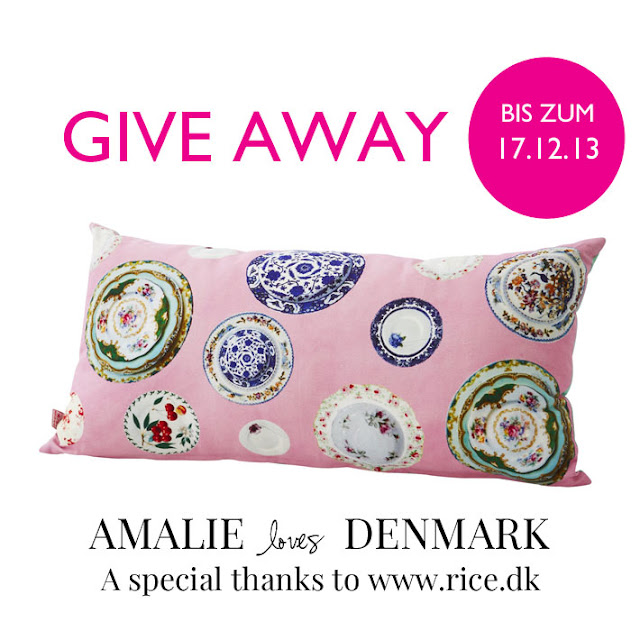 Amalie loves Denmark Rice give away