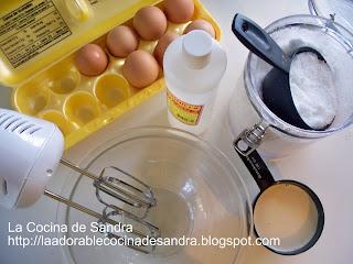 La cocina de sandra flan de vainilla for Procedimiento de cocina