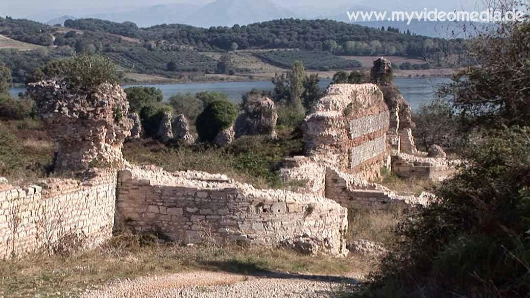 ramparts in Nicopolis Epirus