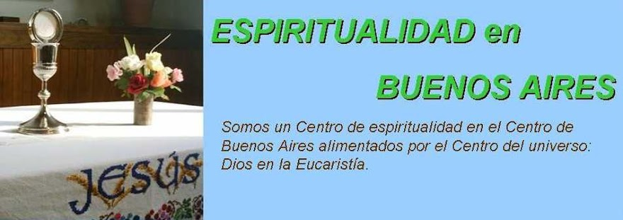 ESPIRITUALIDAD EN BUENOS AIRES