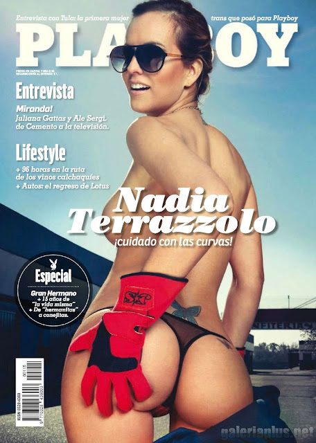 Nadia Terazzolo Revista Playboy Argentina Agosto 2015