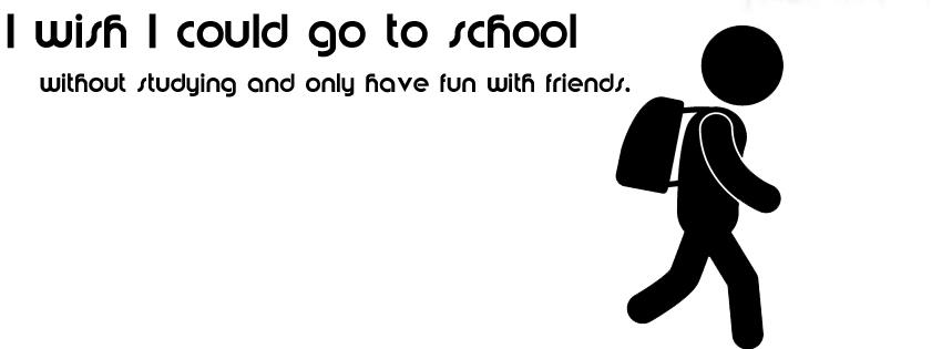 Ways to School funny facebook photo