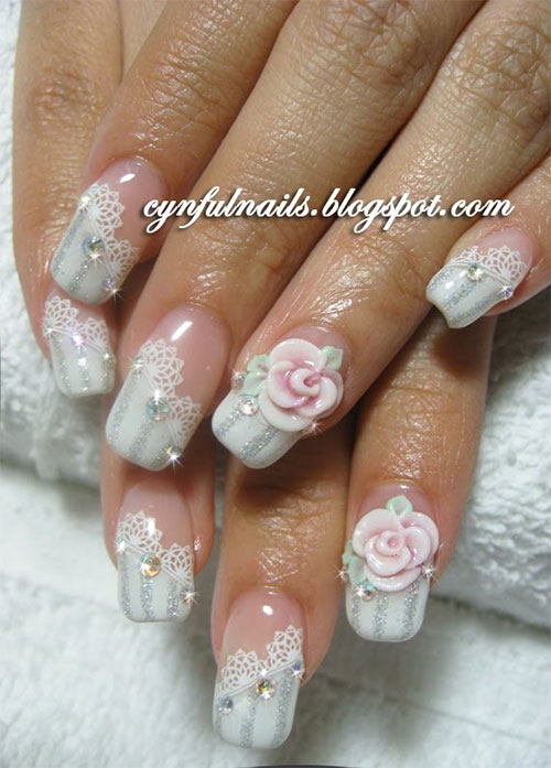 15 Cute Acrylic Nail Art Designs Gallery 10
