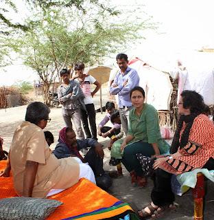 VSSM Team at Dangaa of Dafer Community
