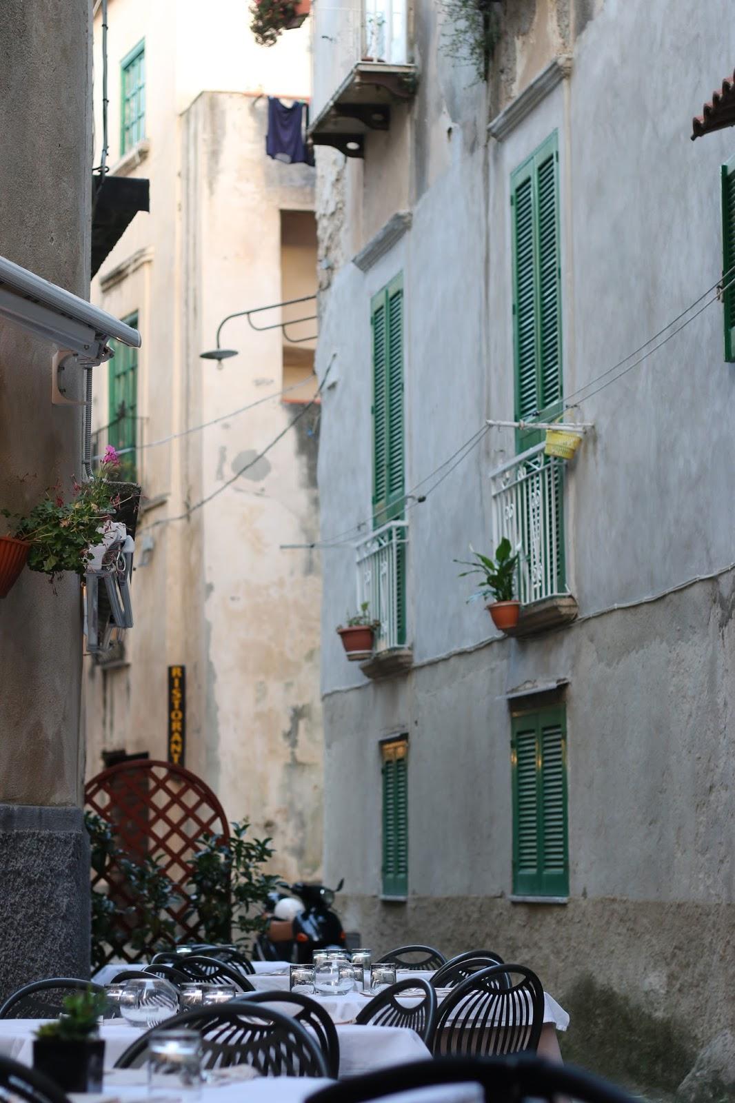tiny italian streets