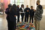 Turma do Ateliê Matéria Prima no Ar na 30ª Bienal
