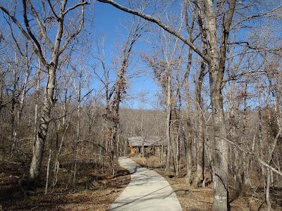 Mount Sequoyah Woods Fayetteville Arkansas Trail